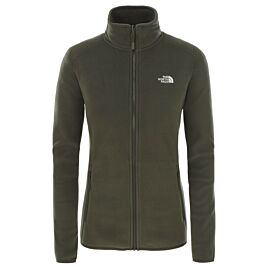 The North Face 100 Glacier fleece vest dames new taupe green