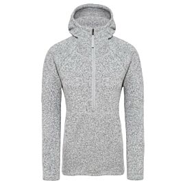 The North Face Crescent trui dames tnf light grey heather
