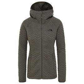 The North Face Inlux Tech softshell jas dames new taupe green