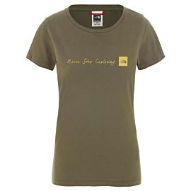 The North Face NSE shirt dames burnt olive green