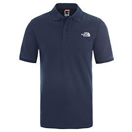 The North Face Piquet polo heren blue wing teal