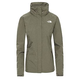 The North Face Sangro outdoor jack dames new taupe green dark heather
