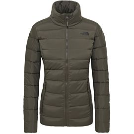 The North Face Stretch Down outdoor jack dames taupe green