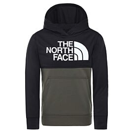 The North Face Surgent Pullover Block hoodie junior new taupe green