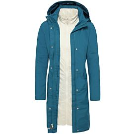 The North Face Suzanne Triclimate parka outdoor jack dames blue coral open