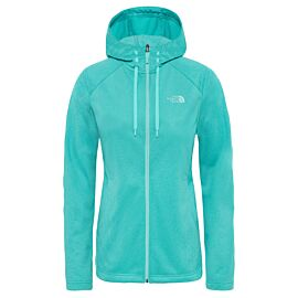 The North Face Tech Mezzaluna Hoodie vest dames ion blue white