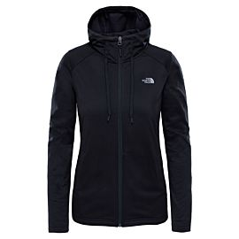 The North Face Tech Mezzaluna Hoodie vest dames tnf black