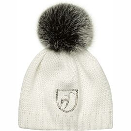 Toni Sailer Beanie Fur muts dames bright white