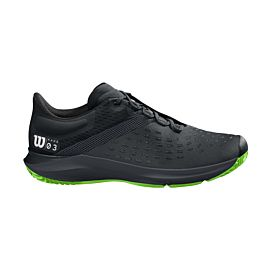 Wilson Kaos 3.0 Clay WRS326540 tennisschoenen heren black blade green