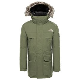 The North Face McMurdo parka winterjas heren four leaf clover