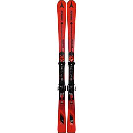 Atomic Redster S9 ski's red black