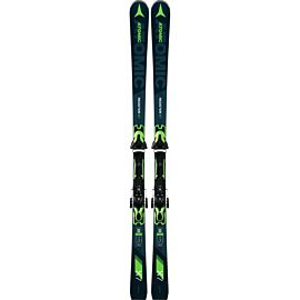 Atomic Redster X7 ski's green