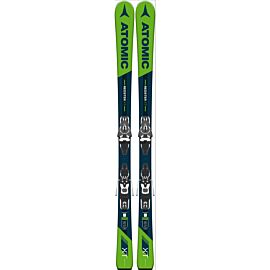 Atomic Redster XT ski's blue green