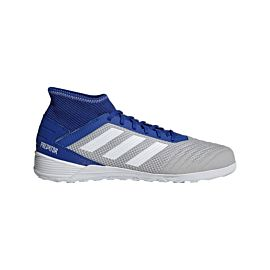 adidas Predator Tango 19.3 IN D97963 zaalvoetbalschoenen heren grey two  footwear white bold blue