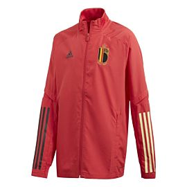 adidas België presentation trainingsjack junior glory red