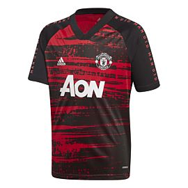adidas Manchester United pre-match voetbalshirt junior real red black