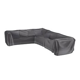 AeroCover Loungesethoes hoekset L-vorm lage rug links 330 x 255 x 100 x 70 antraciet
