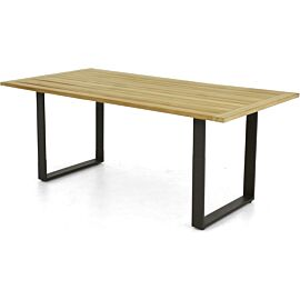 Apple Bee Condor tuintafel 240 x 95 black natural