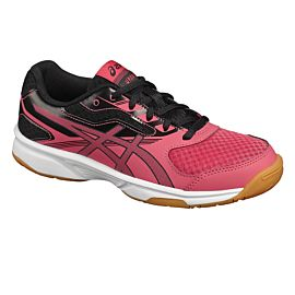 ASICS Upcourt 2 GS C734Y indoorschoenen junior rouge red dark grey black