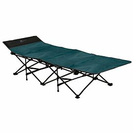Bardani Bed In A Snap stretcher teal blue