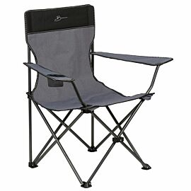 Bardani Captain's Chair vouwstoel cool grey