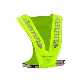 Bee Sports Reflective Led USB reflecterend vest lime