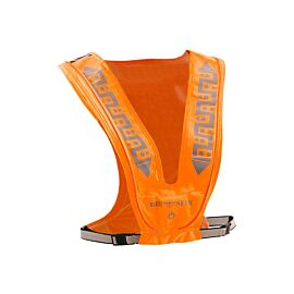 Bee Sports Reflective Led USB reflecterend vest orange