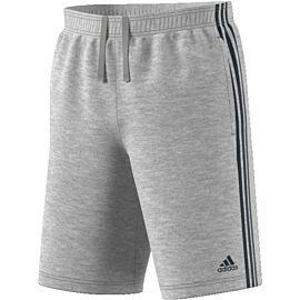 Adidas Essentials 3-stripes French Terry short heren grey