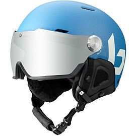 Bollé Might Visor skihelm yale blue matte