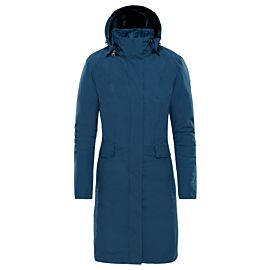 The North Face Suzanne Triclimate parka jas dames blue wing teal
