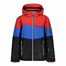 CMP Boy Jacket Snaps Hood 38W0274 winterjas junior nero