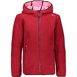 CMP HighLoft fleece vest junior magenta