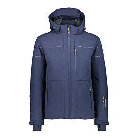 CMP Man Jacket Zip Hood 38W0597 winterjas heren navy
