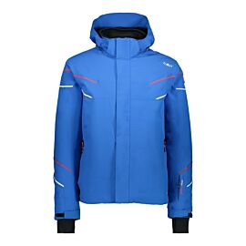 CMP Man Jacket Zip Hood 38W0497 winterjas heren royal
