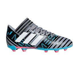 adidas Nemeziz Messi 17.3 FG CP9174 voetbalschoenen junior grey footwear white core black