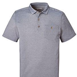 Craghoppers NosiLife Gilles Short Sleeved polo heren ombre blue marl