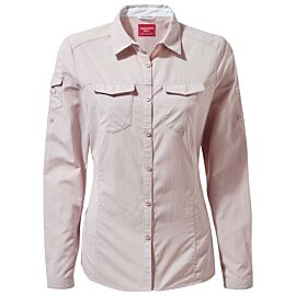 Craghoppers NosiLife Adventure blouse dames brushed lilac