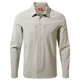 Craghoppers NosiLife Pro overhemd heren parchment shirt