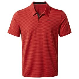 Craghoppers NosiLife Pro polo heren pompeian red shirt