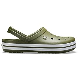 Crocs Crocband 11016 klompen army green white