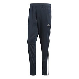 Adidas Real Madrid broek tech onix white schuin