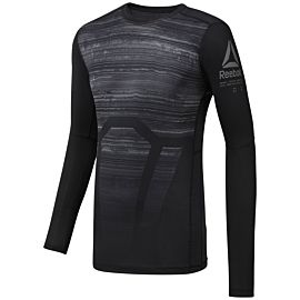 Reebok ACTIVCHILL Compressie shirt heren black