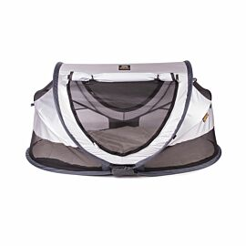 Deryan Travel Cot Peuter Luxe campingbed silver