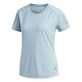 adidas We Own The Run hardloopshirt dames ash grey