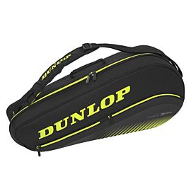 Dunlop SX Performance 3 Racket Thermo tennistas black yellow