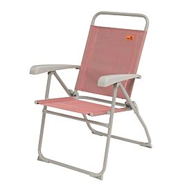Easy Camp Spica verstelbare campingstoel coral red