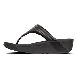 FitFlop Lottie Padded Toe-Post slippers dames black