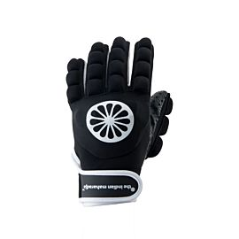 The Indian Maharadja Glove shell foam full left hockeyhandschoen black