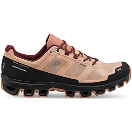 ON Cloudventure Waterproof 20.99857 wandelschoenen dames rosebrown mulberry