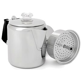 GSI Outdoors Glacier Stainless percolator 6 kops